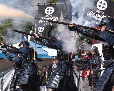 「天下分け目」の関ケ原の合戦でも 火縄銃を積極的に活用
